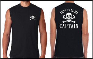 They Call Me Captain - Sleeveless Shirt